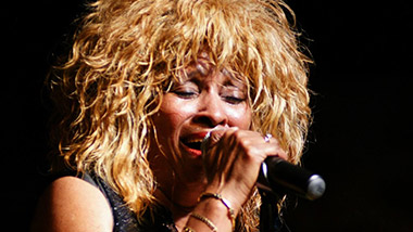 Suzette Dorsey performs as Tina Turner in the tribute show Forever TiNA.